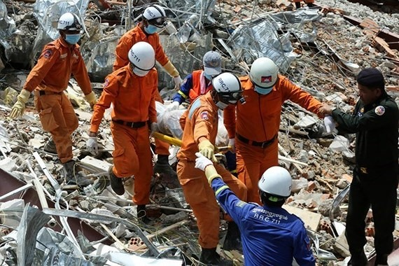 No more survivors in Cambodia building collapse as toll hits 24