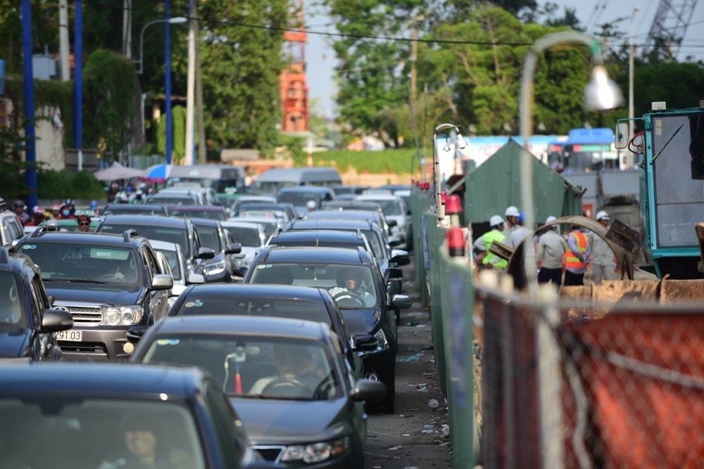 HCM Citys 34 toll booths to reduce peak-hour congestion