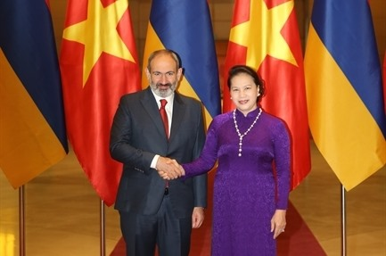 National Assembly leader welcomes Armenian PM