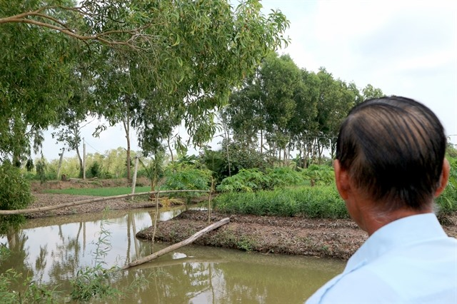 Water source a lifeline for farmers near U Minh Thượng national park