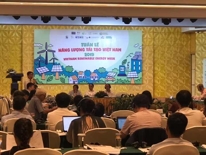 Việt Nam Renewable Energy Week 2019 starts in Hà Nội