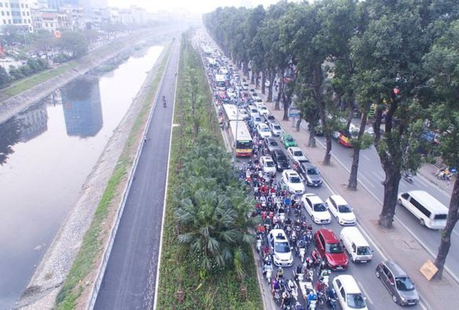 Hà Nội plans more overpasses crossing Tô Lịch river