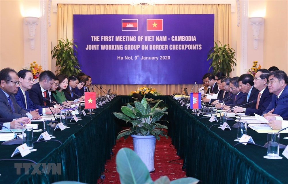 Joint working group on VN-Cambodia border gates meets
