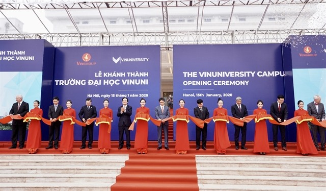 Vingroup officially opens VinUni University in Hà Nội