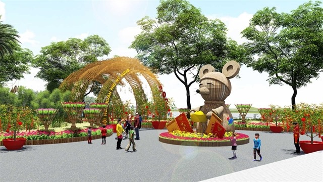 Annual spring flower festival to open in Phú Mỹ Hưng City Centre