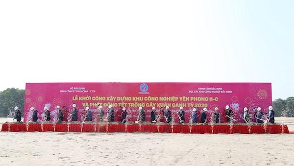 Work begins on 96.3m industrial park in Bắc Ninh