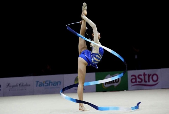 Young athletes compete in National Junior Gymnastic and Aerobic Championships