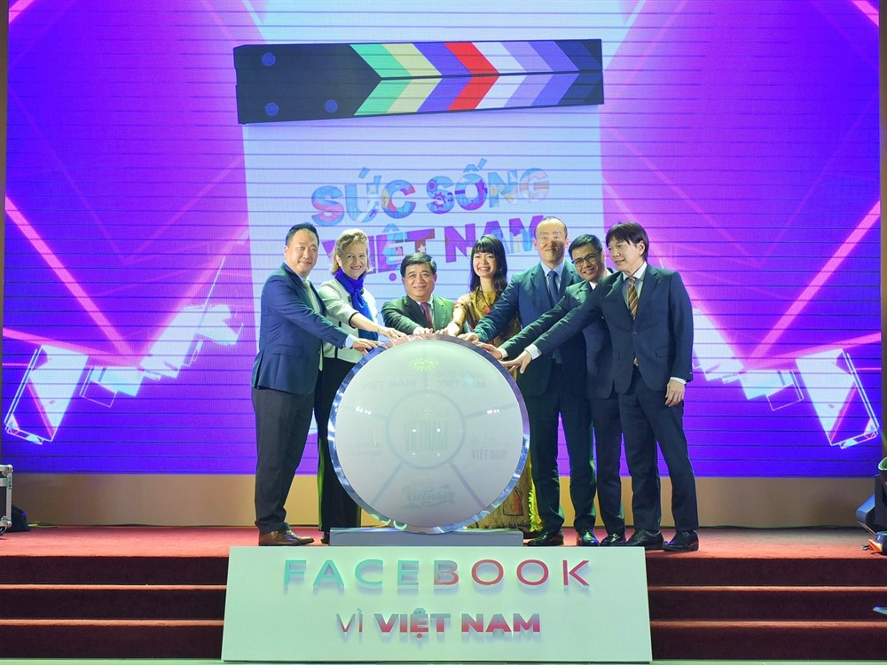 Facebook and MPI launch Vitality of Vietnam programme