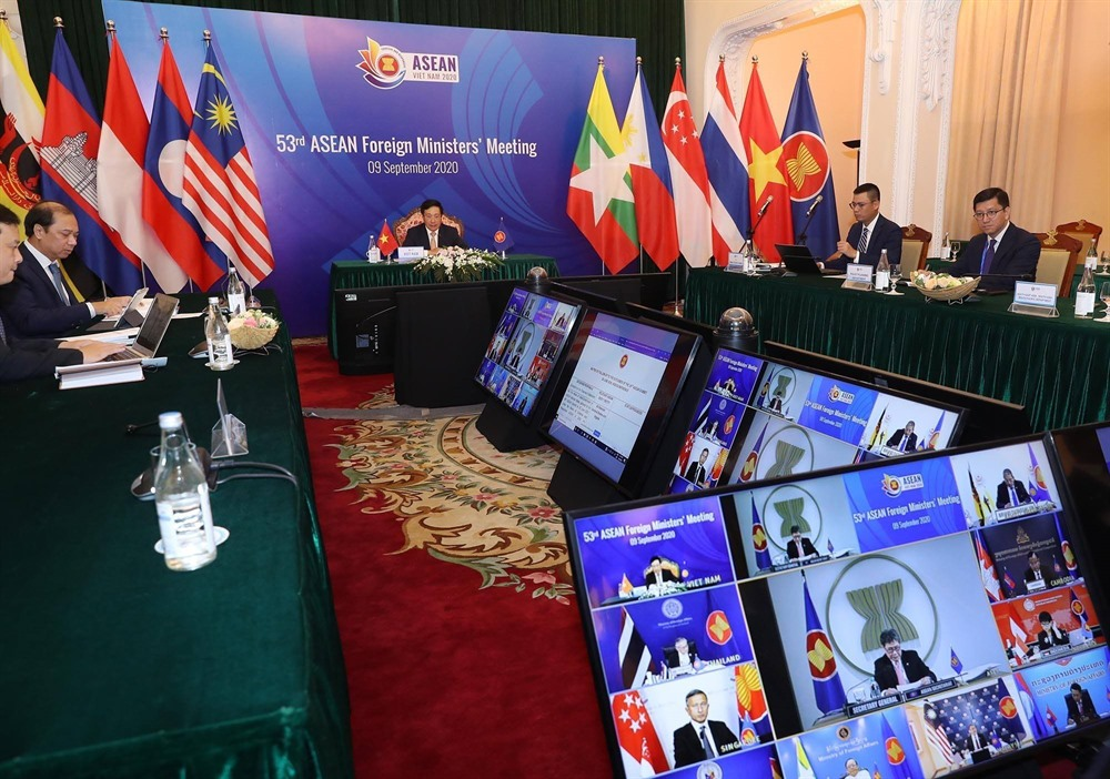ASEAN FMs agreed to promote cooperation while coping with COVID-19 pandemic