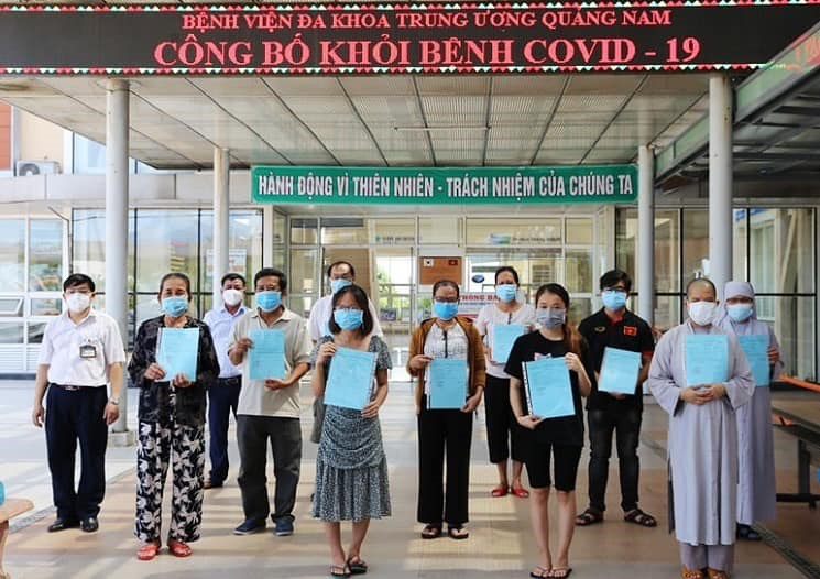 23 COVID-19 patients recover in Đà Nẵng and Quảng Nam