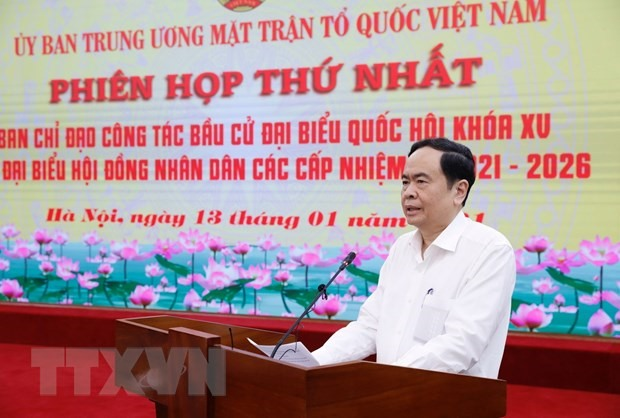 Việt Nam Fatherland Front to uphold consultation role in general election