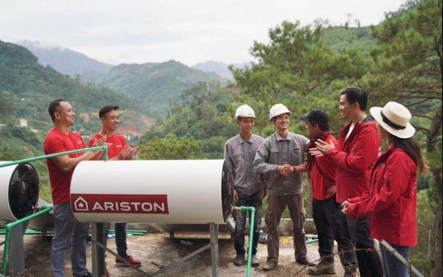 AristonViệt Nam installs 100 water-heating systems in remote regions