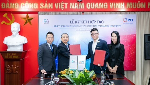Doctor Anywhere and PTI sign agreement on expanding digital healthcare in Việt Nam