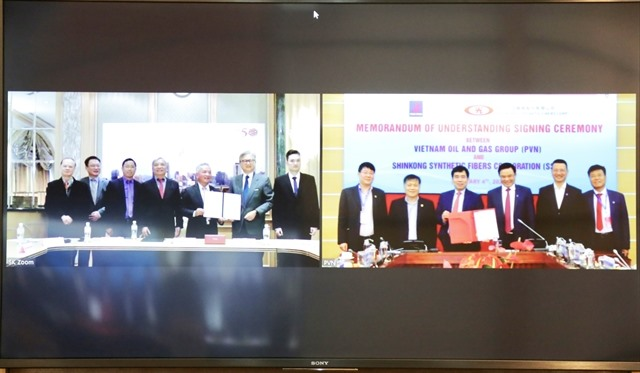 PetroVietnam Taiwanese fiber producer step up cooperation