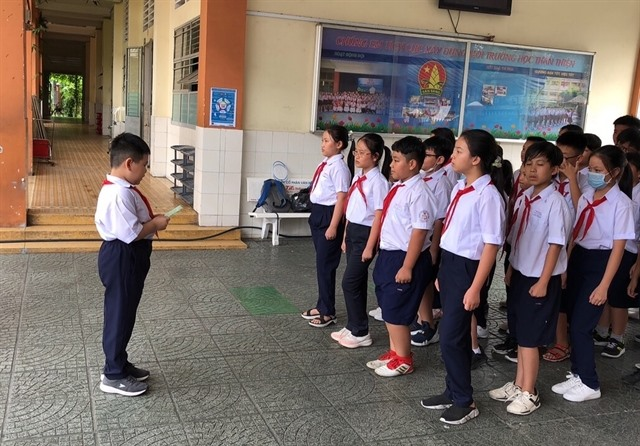 First- and second-graders to study two shifts a day in HCM City