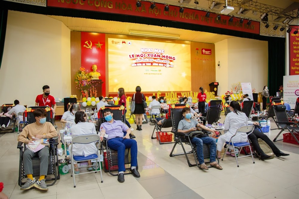 14th Red Spring blood donation festival begins in Hà Nội