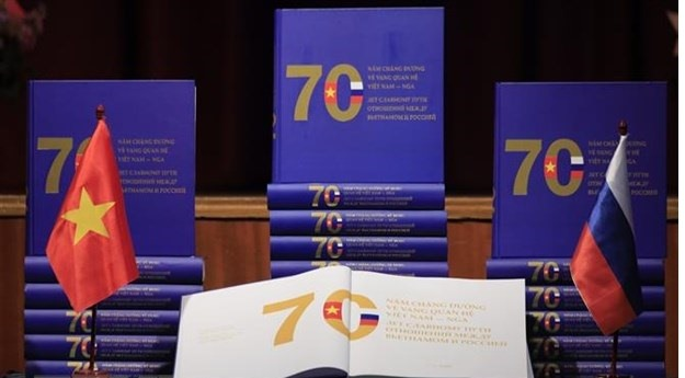 Book on VN-Russia relationship launched in Moscow