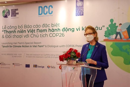 Report on youth action for climate change in Việt Nam debuts