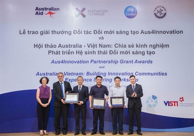 Winners of Aus4Innovation Partnership Grants announced