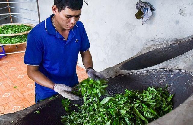Ethnic minority farmer brings tea trade online