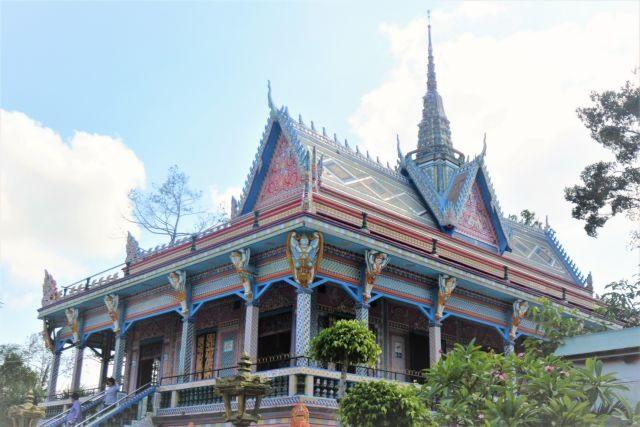 Pagodas in Sóc Trăng Province
