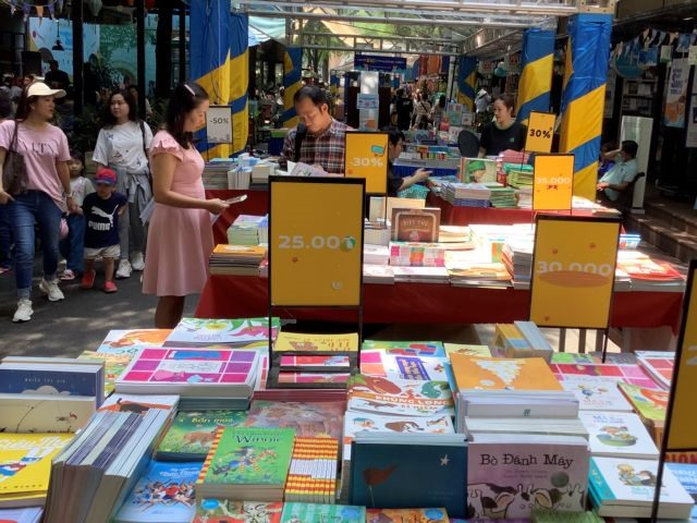 HCM City hosts childrens book fair