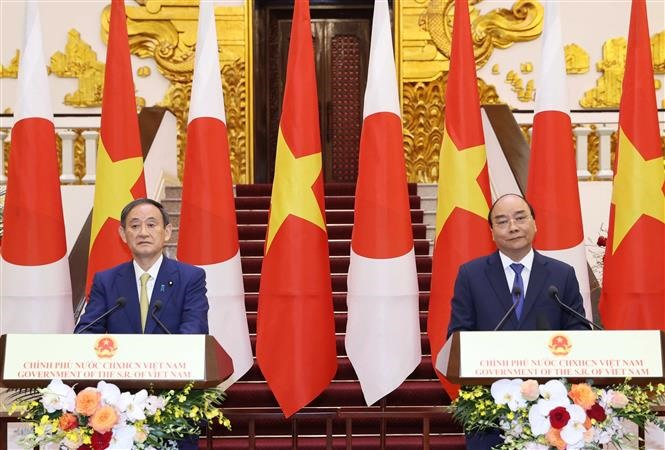 Việt Nam plays a key role in Free and Open Indo-Pacific strategy Japanese PM Suga says