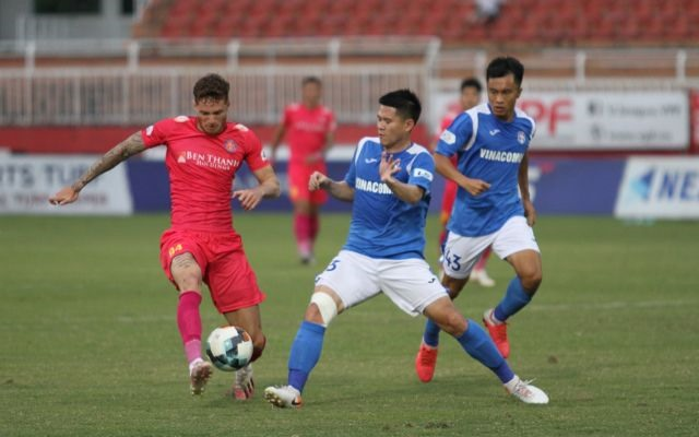 Sài Gòn FC still on top at end of V.League 1s first leg