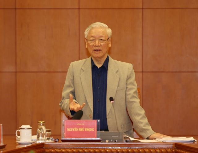 Party chief urges expeditingmajor corruption cases