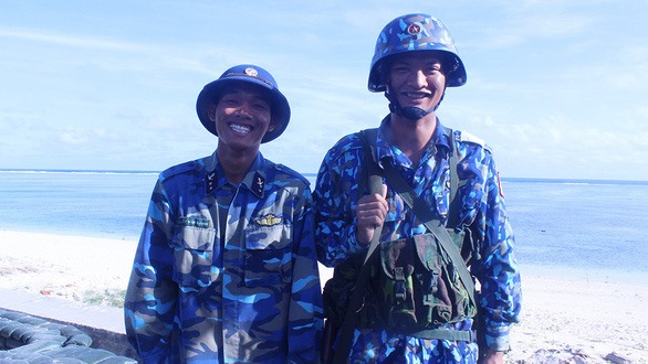 Ethnic soldiers proudly serve on Sơn Ca Island