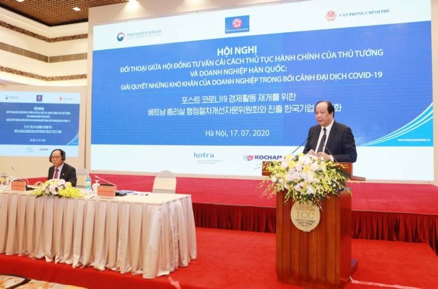 Việt Nam vows to partner with Korean firms to overcome hardships: Minister