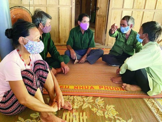 Hre ethnic minorities in Quảng Ngãi adapt to pandemic life