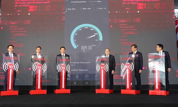 First industrial park in Việt Nam gains access to 5G network