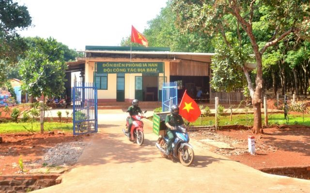 Gia Lai border guards step up communication work on election