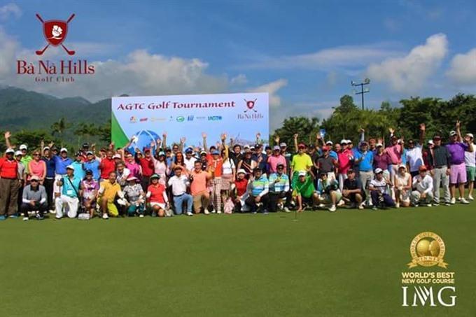 Đà Nẵng hosts AGTC 2017 promotes golf tourism