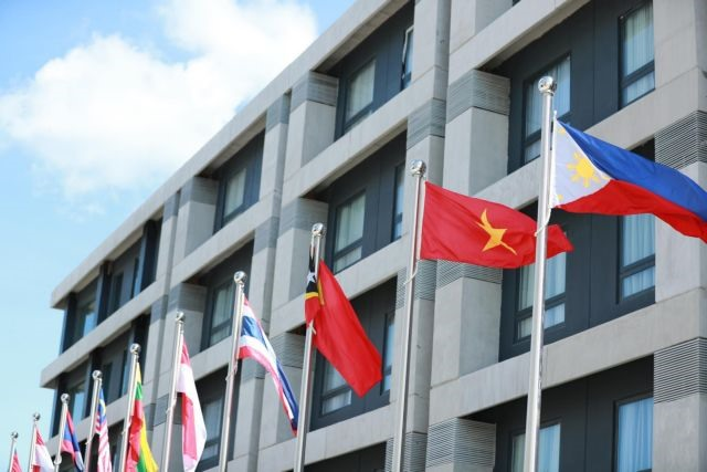 Vietnamese flag flies at 30th Southeast Asian Games