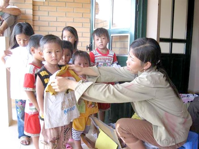 Mother of SOS Village bringing life to orphans