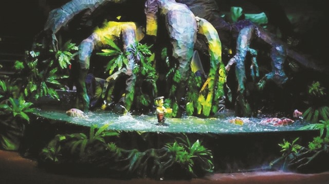 Waterpuppet performances offered at HCM City Museum of History