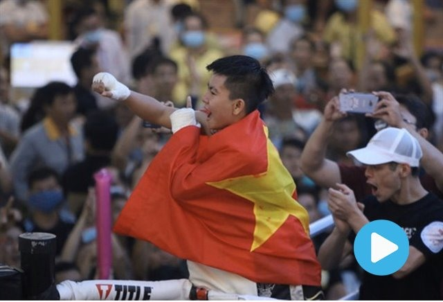 Nhi to become Việt Nams first world boxing champion