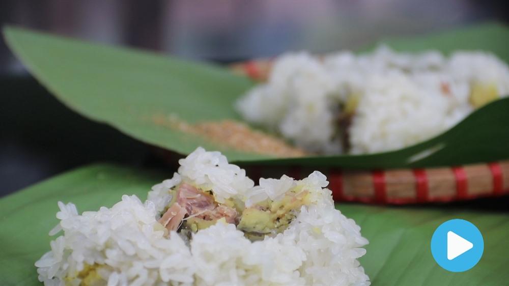 Nom nom Vietnam - Episode 36: Cudweed cake/Bánh khúc