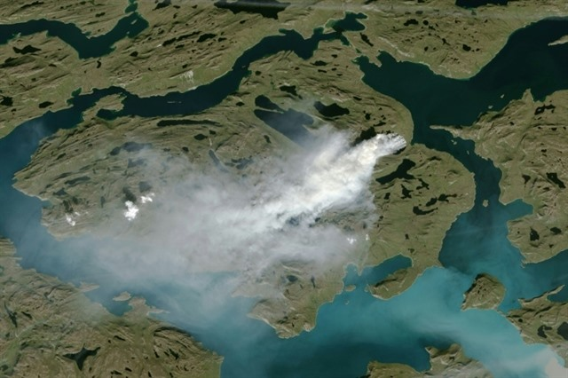 Scientists warn of zombie fires in the Arctic