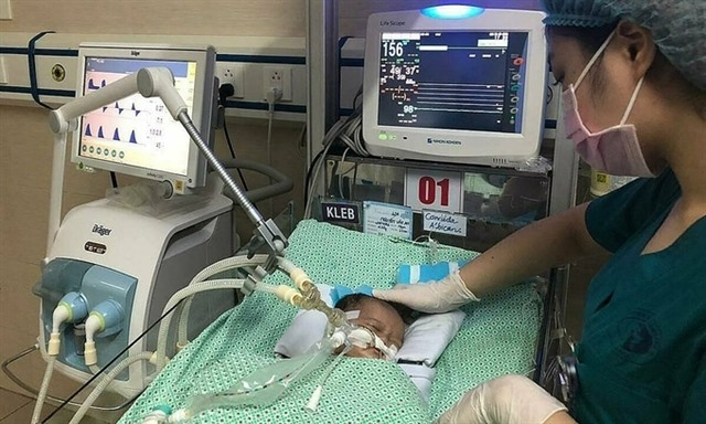 Abandoned baby dies after 21 days of treatment
