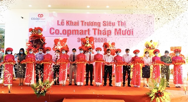 Co.opmart supermarket opens in Tháp Mười in Đồng Tháp Province