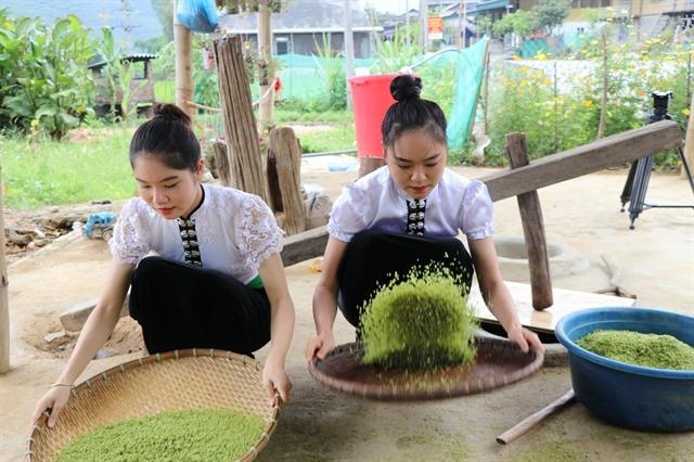 Cốm Tú Lệ a specialty of northwestern mountainous region