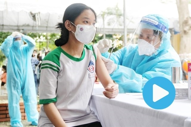 HCM City begins inoculating children with Pfizer COVID-19 vaccines
