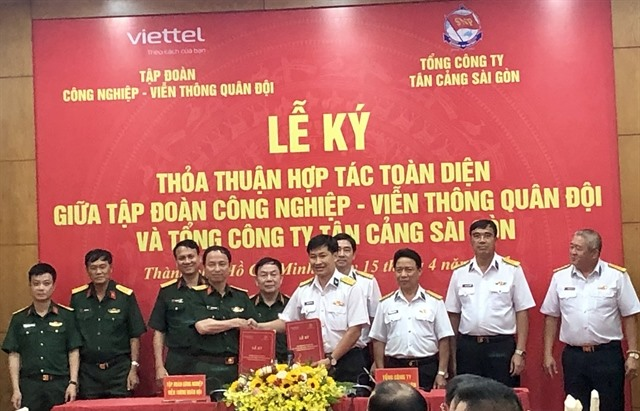 Giant container port operator Viettel in strategic tie-up