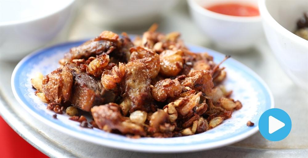 Nom nom Vietnam - Episode 87: Duck fried with garlic