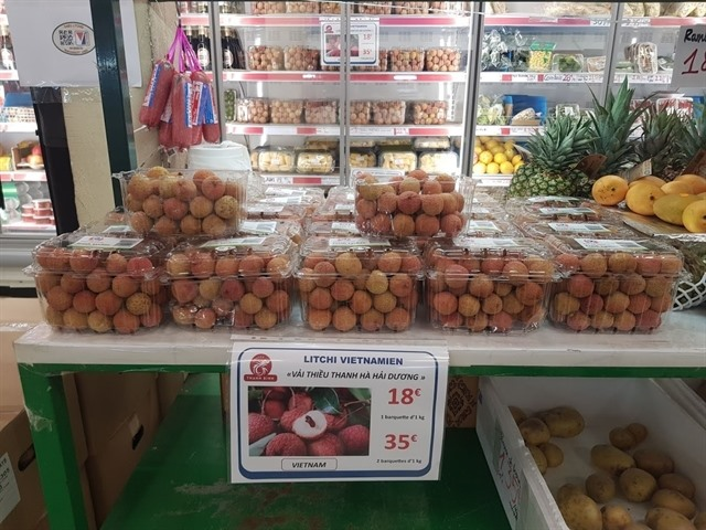 More Vietnamese lychees to be flown to France