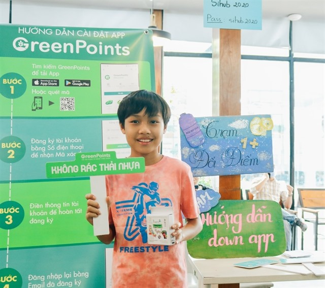 App fostering green livingbecomes popular