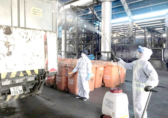 HCM City handles Covid-19-related waste